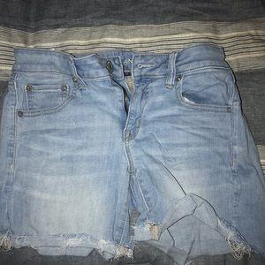 Size 8 light blue American Eagle Shorts